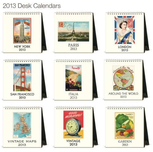 Desck Calendar Cavallini