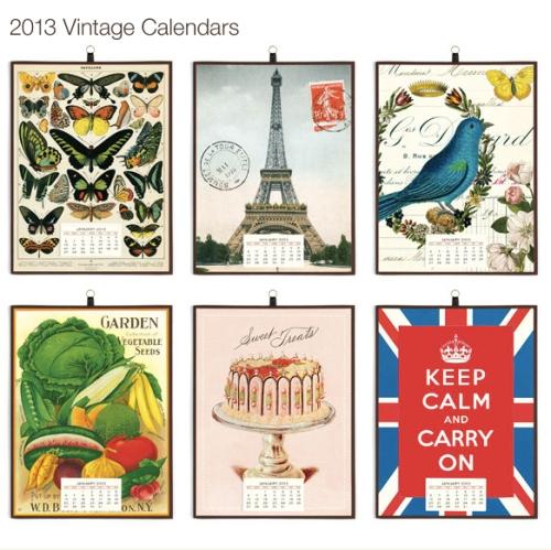 Vintage Calendar Cavallini