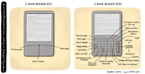 E-book-reader-in-2050-cartoon