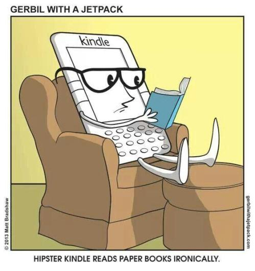 Hipster-Kindle-cartoon
